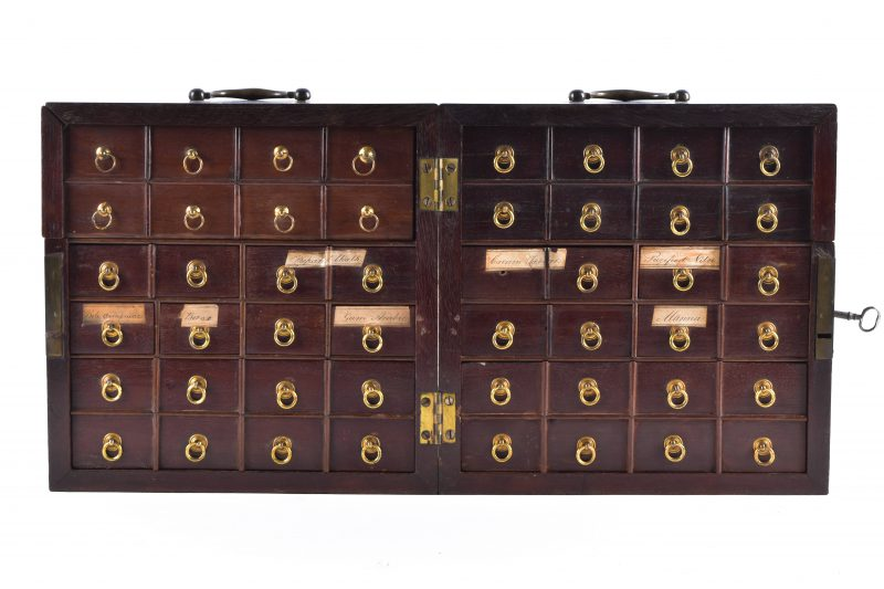 A single owner of 18th century and later medicine chests to be auctioned in our November sale