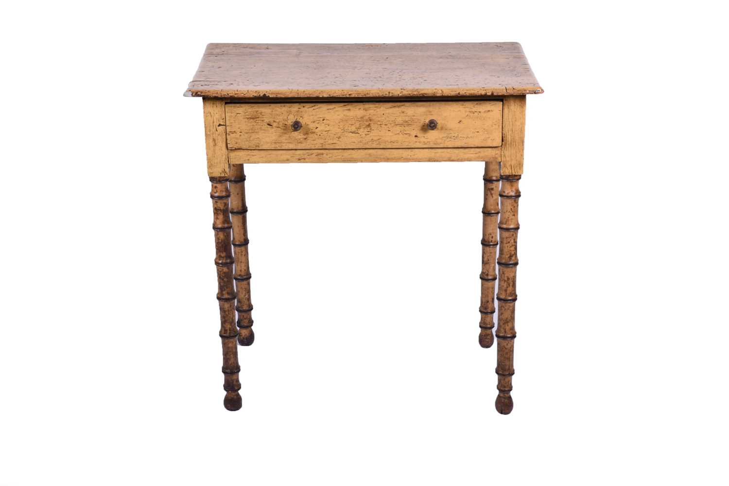 George IV side table bamboo