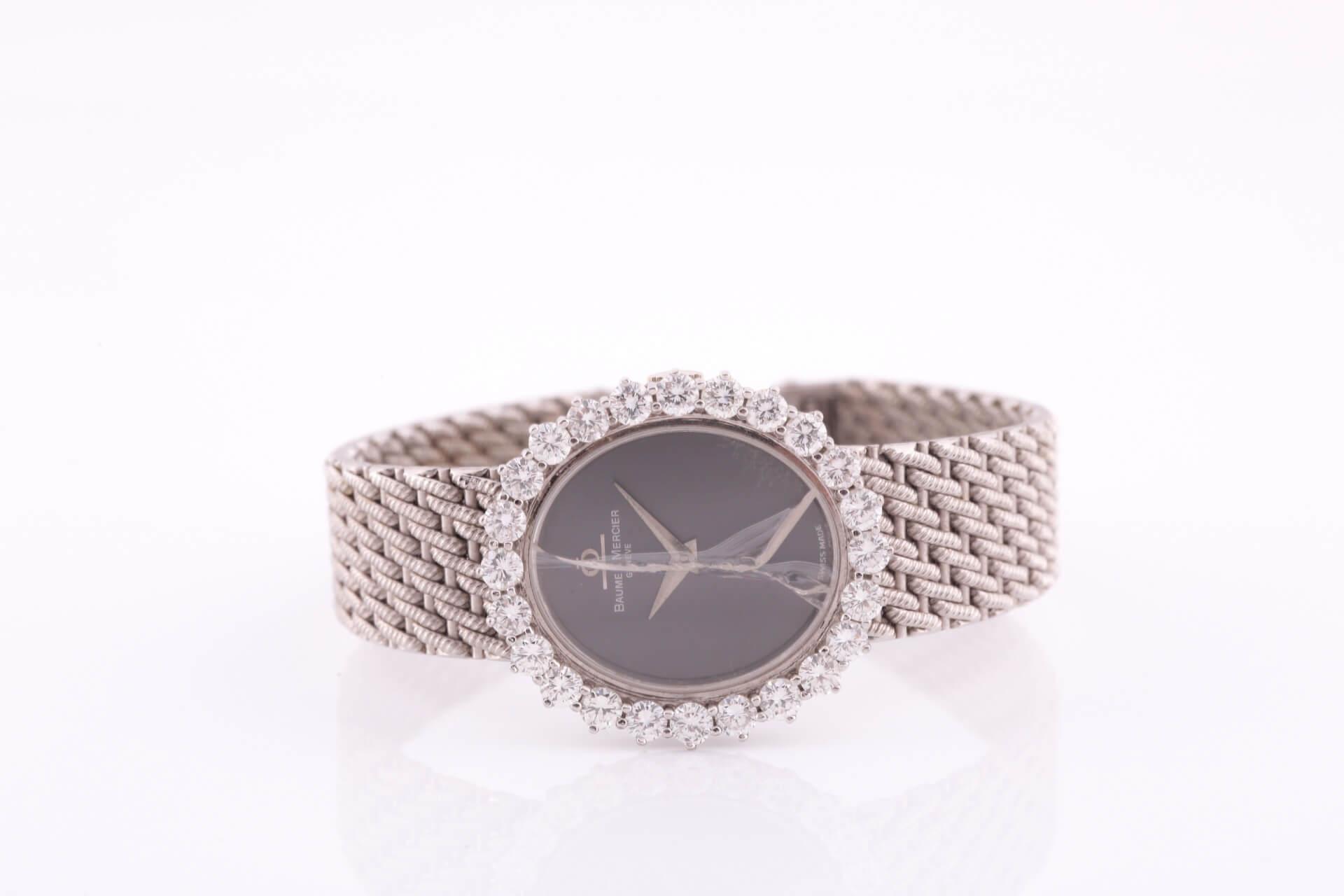 Baume and Mercier wristwatch