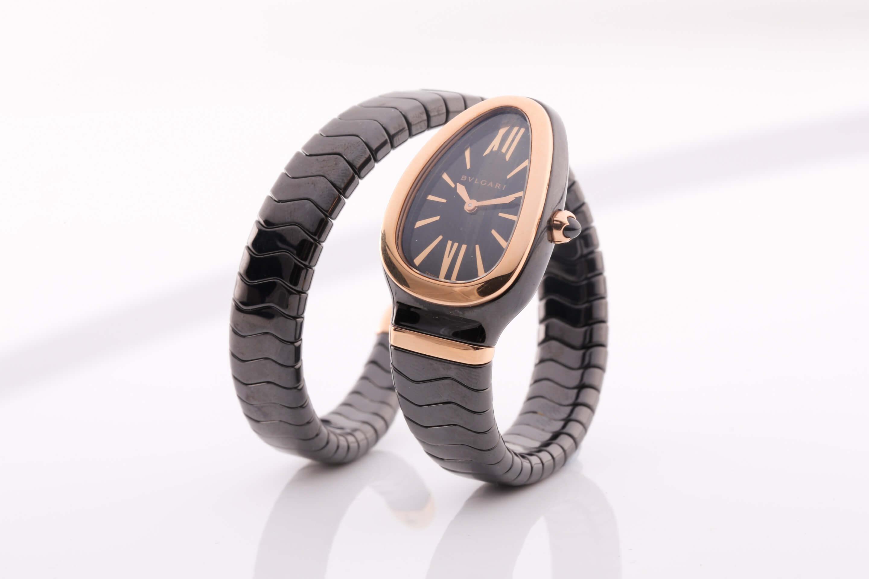 Bvlgari Serpenti Spiga single spiral watch