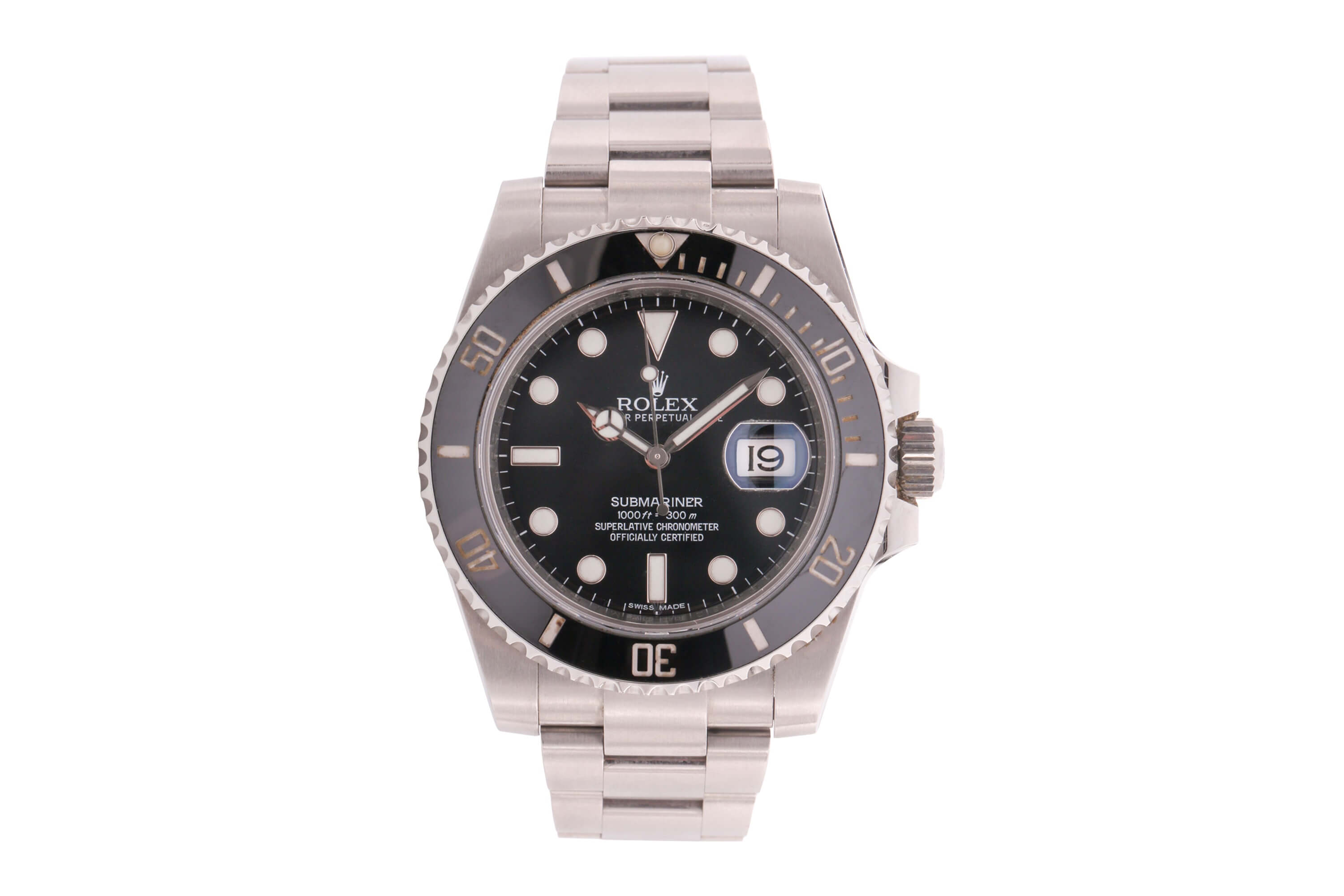 A Rolex Submariner Date ref. 116610LN Serial number 62F052M1