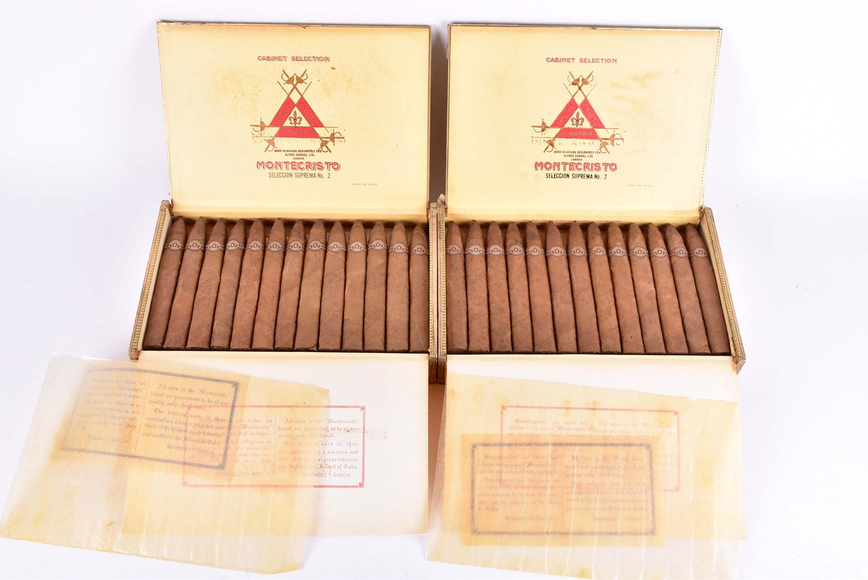 Dunhill Montecristo Seleccion Suprema Cigars