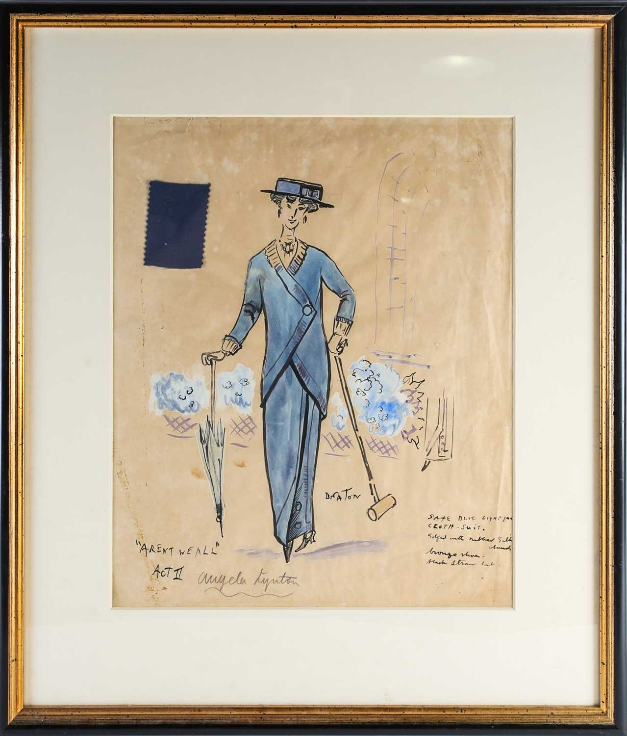 Cecil Beaton theatrical costume design