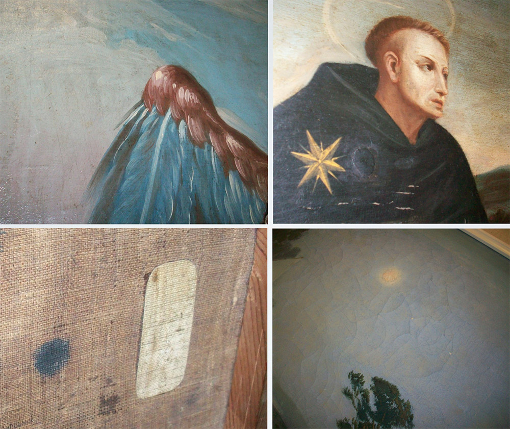 Condition of paintings