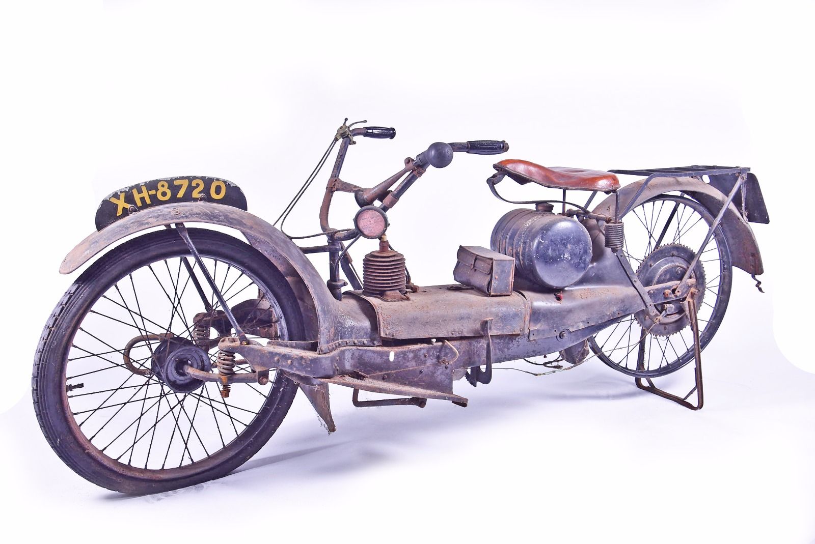A 1920's Ner-A-Car motorcycle, sold for £7,500