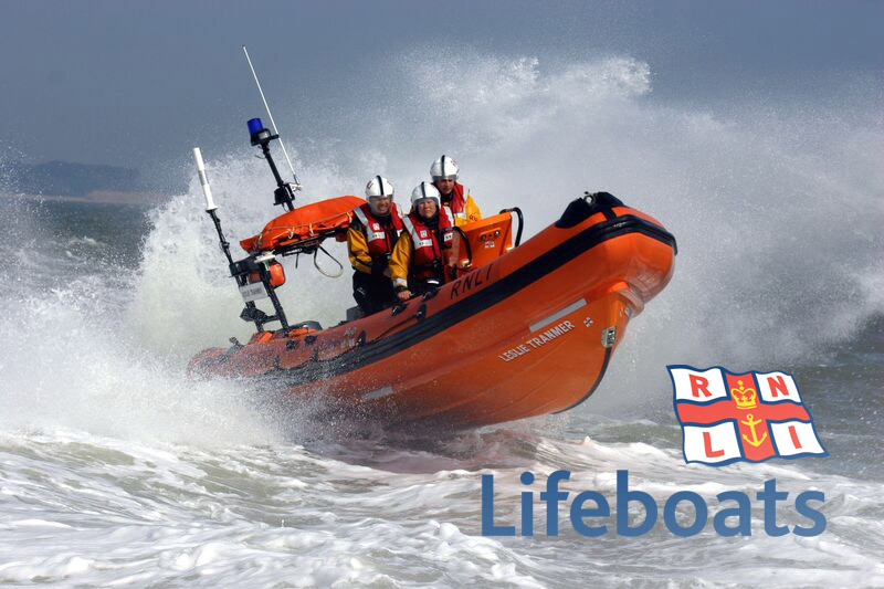RNLI liftboat dawsons auctioneers