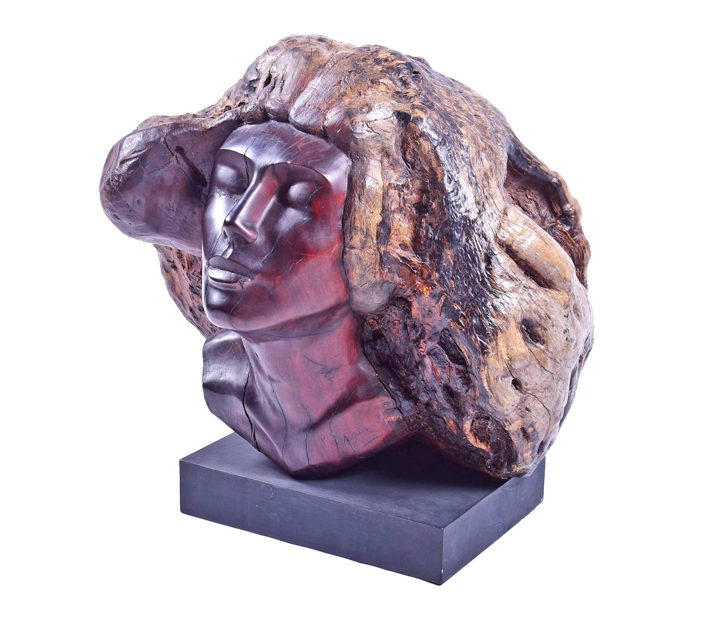 Stepan Dmitrievich Nefyodov Erzia Russian Head of a Woman. Sold for £31,500.