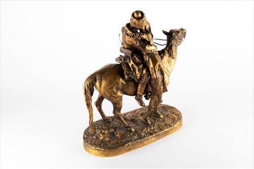 Lot 210-After Eugene Lanceray (1848-1886) Russian cast by ...