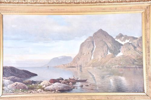 Lot 27-Michael Haubtmann (1843-1921) German depicting a...