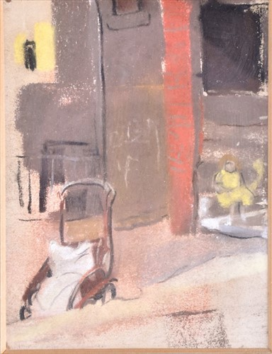 Lot 123 - Attributed to Joan Eardley RSA (1921-1963)...