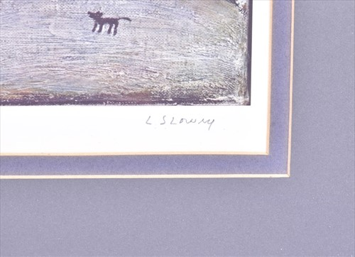 Lot 108-Laurence Stephen Lowry RBA RA (1887-1976) British ...