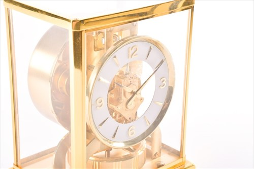 Lot 409-A Jaeger-LeCoultre 'Atmos' clock, in a...