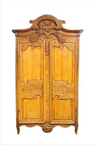 Lot 71-A French 18th century Louis XV provincial pine...