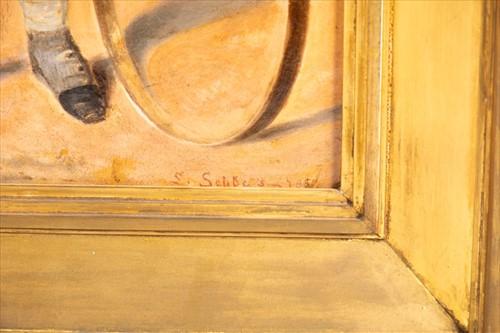 Lot 7-Julius Ludwig Sebbers. (active 1804-1863) German...