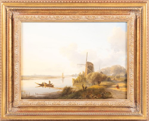 Lot 9-Lodewijk Johannes Kleyn (1817-1897) Dutch...