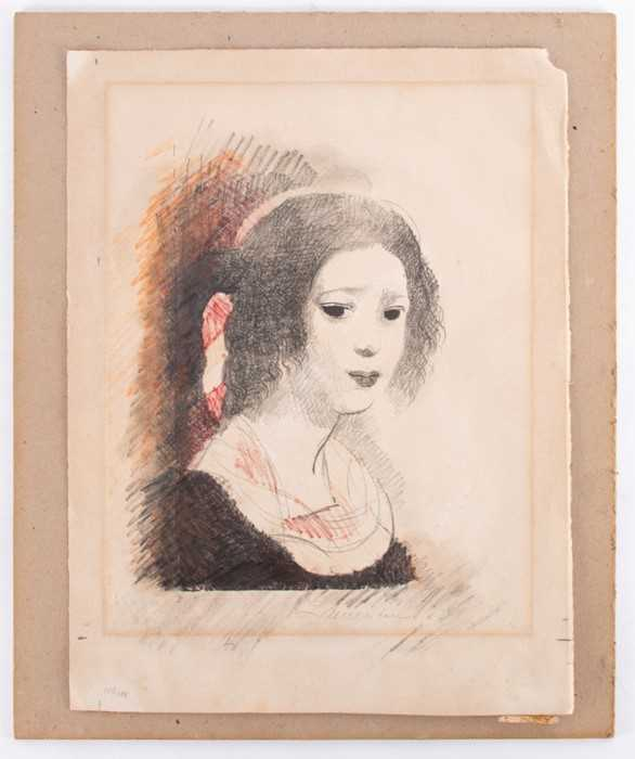 Lot 47-Marie Laurencin (1883-1956) French depicting a...
