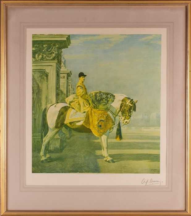 Lot 48-After Sir Alfred Munnings (1878-1959) 'The...