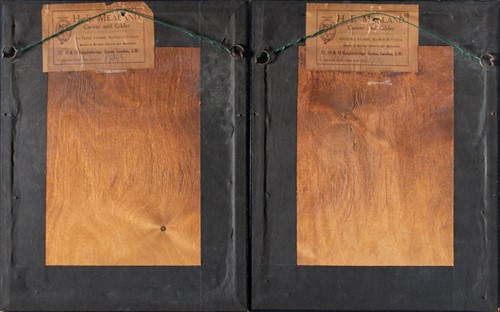 Lot 18-English School, early 19th century A pair of...