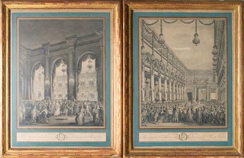 Lot 53 - Jean-Michel Moreau (1741-1814) French a pair...