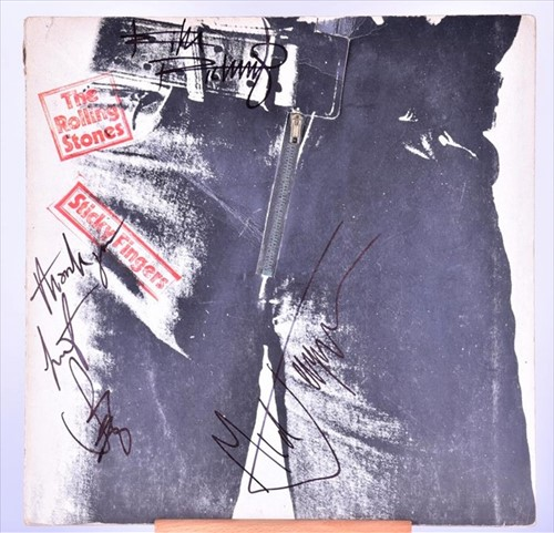 Lot 281-The Rolling Stones / Andy Warhol: An original...