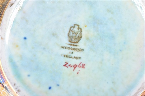 Lot 172 - A rare Wedgwood Fairyland Lustre octagonal...