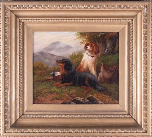 Lot 4-Scottish school, 19th century depicting a pair of ...