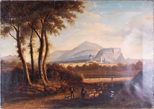 Lot 14-Continental School, 19th century depicting...