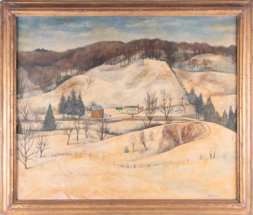 Lot 17-Stowell Lecain Fisher Smith (1906-1981) American...