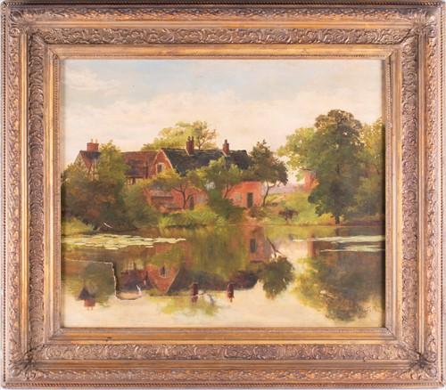 Lot 22-Jacques Marie Gaston de Breville (1858-1931)...