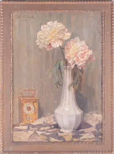 Lot 27-Anton Nowak (1865-1931) Austrian depicting...