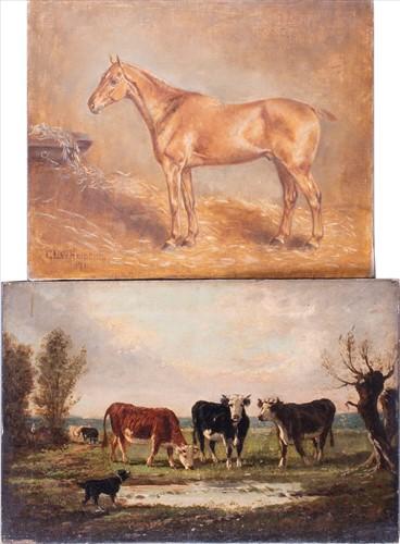 Lot 34-Gertrude L. Whelpton (XIX-XX) British depicting a ...