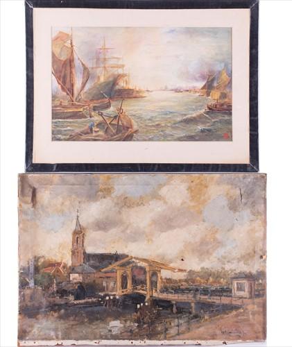 Lot 37-Hendrik Cornelis Kranenburg (1871-1948) Dutch...