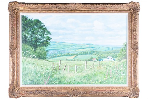 Lot 12-H.J. Squires (XX) English 'Above Winchcombe',...