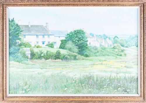 Lot 13-H.J. Squires (XX) English 'Little Rissington',...
