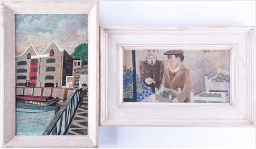 Lot 16-Alfred Daniels (1924-2015) British 'Bridge Over...