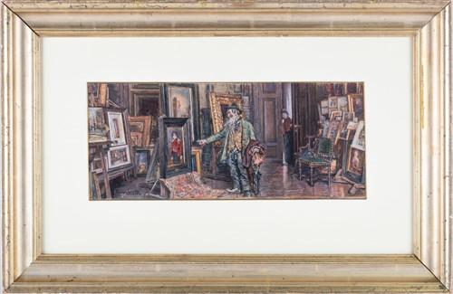 Lot 27-Ismael Gentz (1862-1914) German 'Art Dealer's...