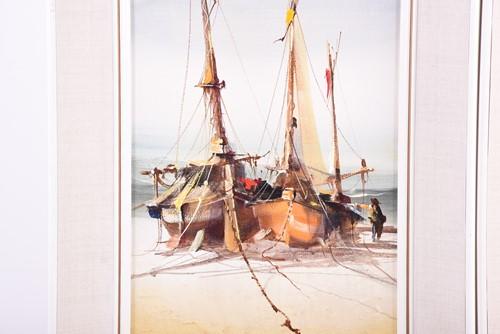 Lot 31-Jorge Aguilar-Agon (b.1936) Spain, a pair of oils ...