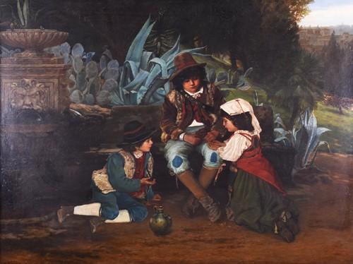 Lot 27-Edward Henry Bearne (b.c. 1845) English,...
