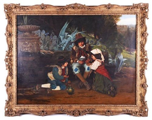 Lot 27-Edward Henry Bearne (b.c. 1845) English,...