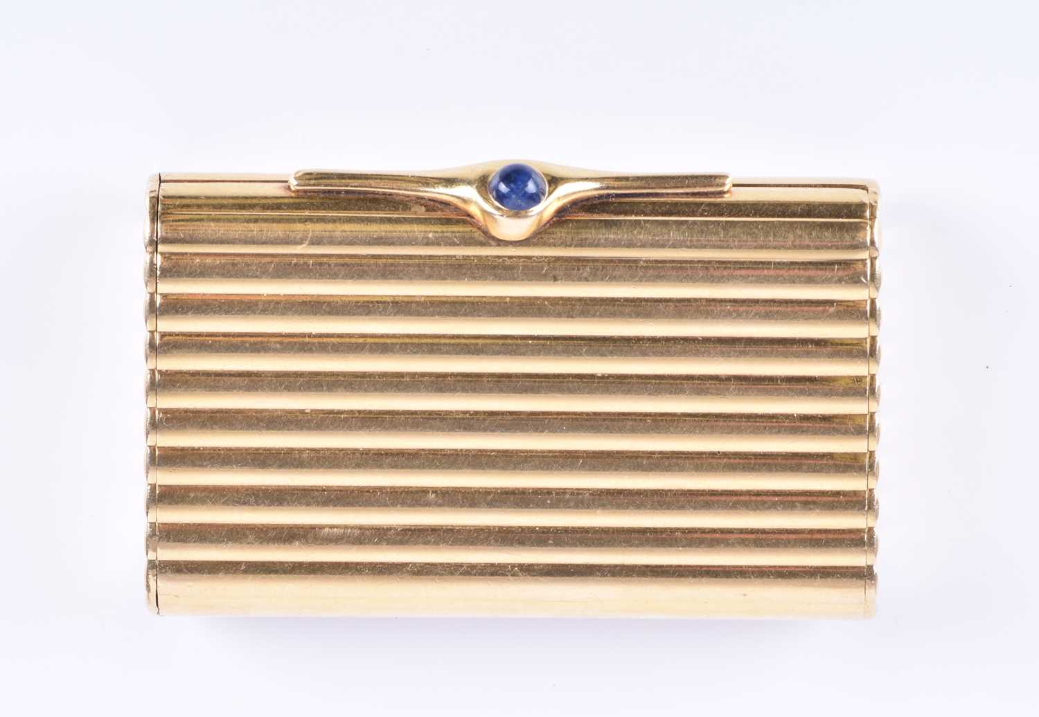 Lot 434 - Kutchinsky. An 18ct yellow gold pill box of...