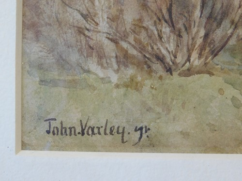 Lot 33-Attributed to John Varley The Younger (British,...
