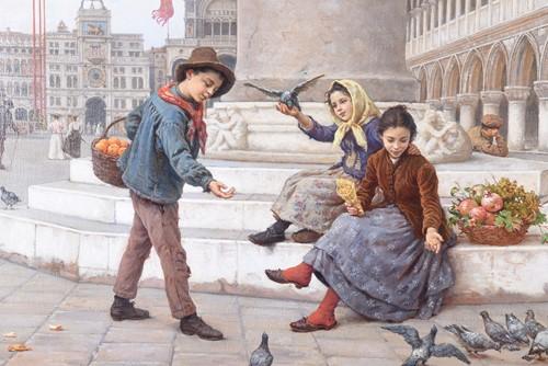Lot 472 - Antonio Ermolao Paoletti (1834-1912) Italian A...