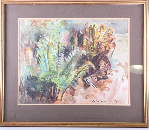 Lot 5-Katharine Church (1910 - 1999), 'Fern in May',...
