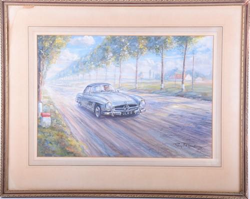 Lot 8-Raymond Groves (1913 - 1958), 'Mercedes sports...