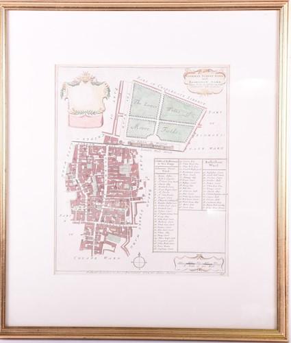 Lot 54-Richard Blome 'Coleman Street Ward & Bashishaw...