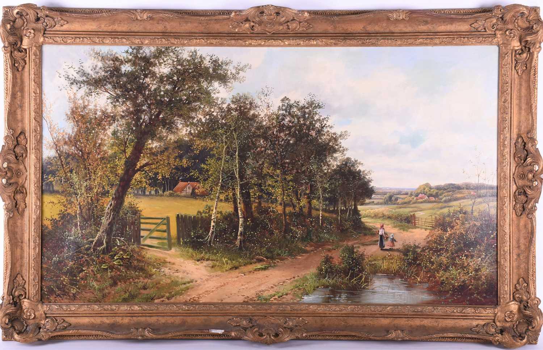 Lot 9-John Henry Boel (British, fl:1890/1915), Woman...
