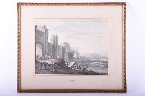Lot 11-Manner of Claude Joseph Vernet (1714 - 1789), The ...