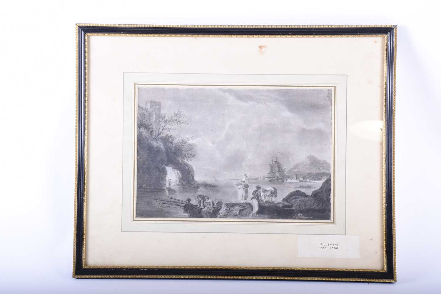 Lot 14-Attributed to Jean Pillement (1728 - 1808),...
