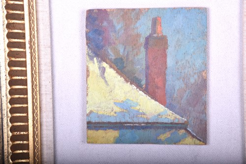 Lot 19-Modern British School, c.1940, Roof Study and...