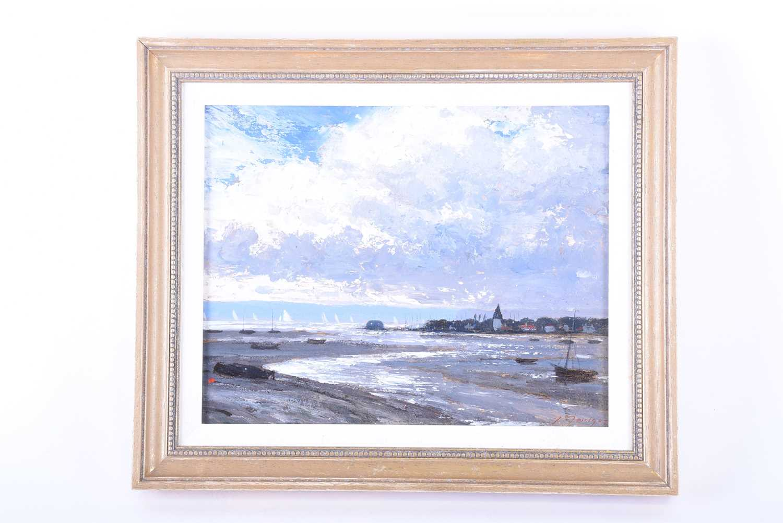 Lot 22-John Foulger (1942-2007) British 'Bosham, Sussex',...
